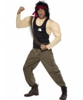 Rambo verkleed outfits voor heren trend