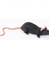 Ratten decoratie van rubber 15 cm trend