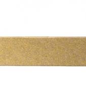 Rechthoekige mozaiek stenen goud trend