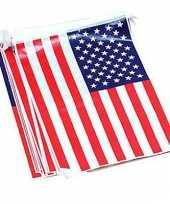 Rechthoekige vlaggenlijn usa 7 m trend