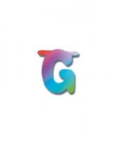 Regenboog letters g trend