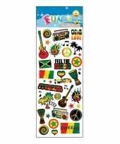 Reggae stickervellen trend