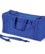 Reistas kobaltblauw 74 liter trend