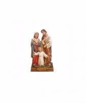 Religieuze kerst decoratie beeldje heilige gezin 15 cm trend