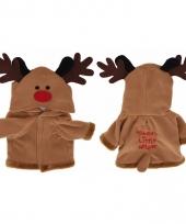 Rendier kerstpakje voor de hond 55 cm trend