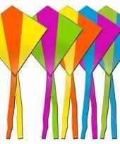 Rhombus vlieger in diverse kleuren trend
