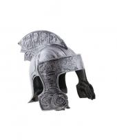Ridder helm zilver voor volwassenen trend