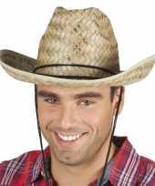 Rieten cowboyhoed dallas voor volwassenen trend