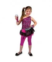 Rock ster verkleedkleding voor meisjes trend