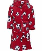 Rode badjas voetbal voor jongens trend