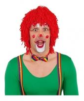 Rode clownspruiken trend 10053773