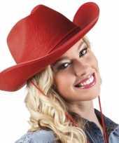 Rode cowboyhoeden trend
