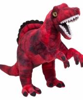 Rode dinosaurus knuffel trend