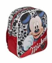 Rode disney mickey mouse rugtas voor kinderen trend