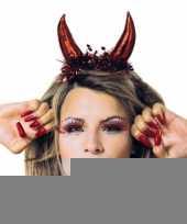 Rode duivel diadeem voor dames trend