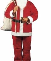 Rode kerstmannen outfit voor heren trend