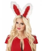 Rode konijnen oren diadeems trend