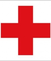 Rode kruis gevelvlag trend
