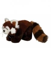 Rode panda knuffeldieren 20 cm trend