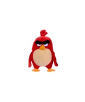 Rode pluche angry birds red knuffel 22 cm trend
