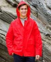 Rode regenjas splash voor volwassenen trend
