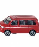 Rode siku speelgoed auto volkswagen multivan trend
