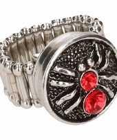 Rode spin chunk ring voor volwassenen trend