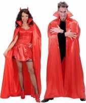 Rode verkleed cape voor volwassenen trend