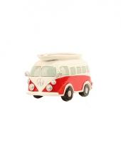 Rode vw surf bus spaarpot trend
