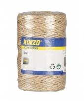 Rolletje touw naturel 100 meter trend