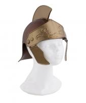 Romeinse helm in het goud trend