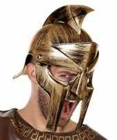 Romeinse verkleed helm met vizier voor heren trend