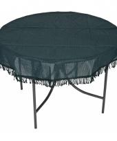 Rond tafelzeil voor buiten donkergroen 160 cm trend