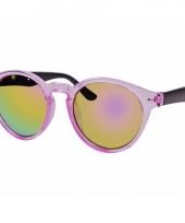 Ronde dames zonnebril roze model 7002 trend