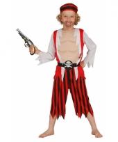 Rood piraten kostuum voor kinderen trend