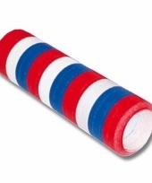 Rood wit blauwe serpentine trend