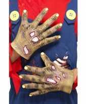 Rottende zombie handen trend