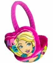 Roze barbie oorwarmers voor meisjes trend