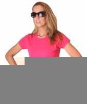 Roze dames shirtje van bella trend