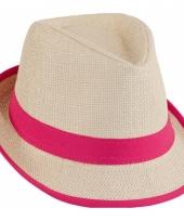 Roze dames strandhoedjes trend