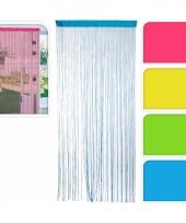 Roze deurgordijnen 200 cm trend