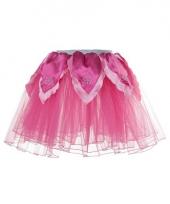 Roze fee verkleed tutu voor meiden trend