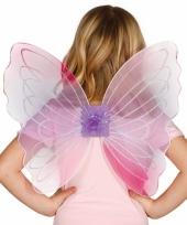 Roze gekleurde vleugels voor meisjes trend