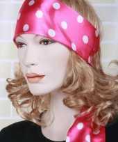 Roze hoofdsjaal voor dames trend