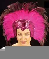 Roze hoofdtooi voor volwassenen trend