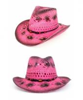 Roze ibiza hoed trend