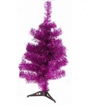 Roze kerstboom 50 cm trend