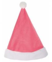 Roze kerstmutsje trend