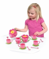 Roze kinderservies trend