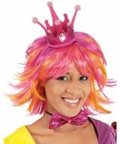 Roze kroon voor een prinses trend